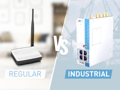 Regular router side-by-side industrial router